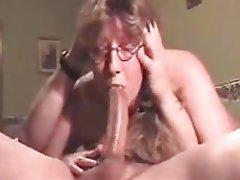 Blowjob, Cuckold, Cumshot, Mature