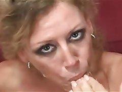 Blonde, Cumshot, Group Sex, Mature
