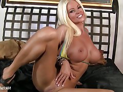 Big Boobs, Blonde, Masturbation, Pornstar