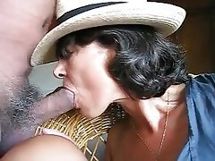 Blowjob, Cuckold, Granny, Masturbation