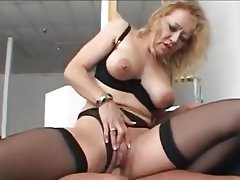 Granny, Lingerie, MILF, Old and Young