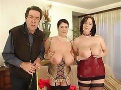 Anal, Big Boobs, German, Threesome