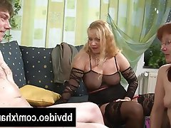 Blowjob, German, Hardcore, Mature, Threesome