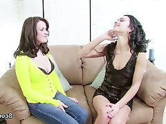 Lesbian, MILF, Old and Young, Skinny, Teen