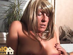 Blowjob, German, Mature, Threesome, Old and Young