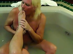 Amateur, Cumshot, Foot Fetish, Mature