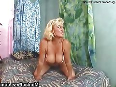 Blonde, Facial, Granny, Hardcore