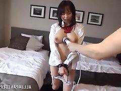 Asian, Babe, Big Tits, Blowjob, Creampie