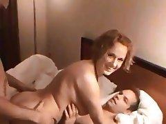 Amateur, Double Penetration, Group Sex, MILF