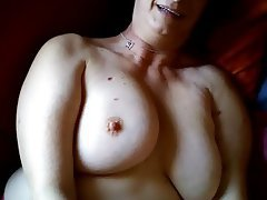 Mature, Big Boobs, Handjob, Granny