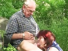 Big Boobs, Granny, Hardcore, Mature, Outdoor