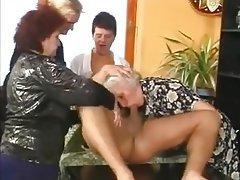 Anal, Cumshot, Granny, Group Sex