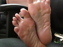 Asian, Foot Fetish, Mature