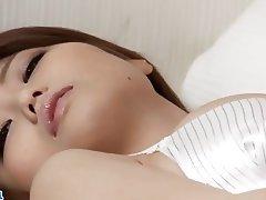Asian, Japanese, Lingerie, Masturbation, Stockings
