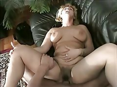 Blowjob, Hairy, Granny, Ass Licking