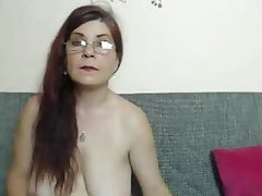 Webcam, Mature, Granny, Saggy Tits
