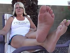 Amateur, Foot Fetish, Mature, MILF, Mature