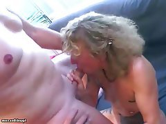 Blowjob, Facial, German, Granny, Mature