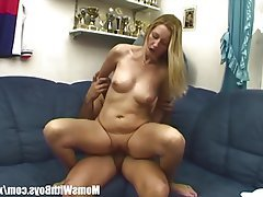 Blonde, Blowjob, Mature, MILF, Old and Young