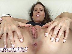 Amateur, Close Up, Masturbation, Ass