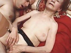 Granny, Mature, Pornstar, Stockings