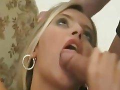 Blonde, Hardcore, Strapon, Threesome