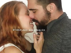 Amateur, Redhead, College, Kissing