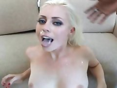 Blonde, Pornstar, Interracial