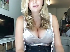 Babe, Blonde, Big Boobs, Big Tits