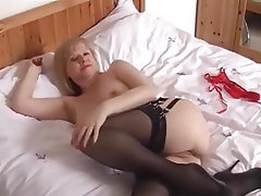 Mature, MILF, British, Dildo