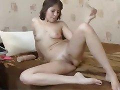 MILF, Russian, Strapon, Webcam