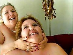 Lesbian, Mature, BBW, Big Boobs