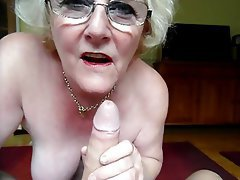 Blowjob old lady