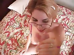Amateur, Babe, Blonde, Facial, Handjob