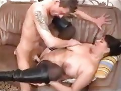 BBW, Big Boobs, German, Hardcore, Stockings