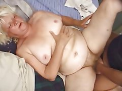 BBW, Blonde, Granny, Mature