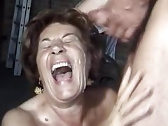 Cumshot, German, Granny, Hairy, Mature