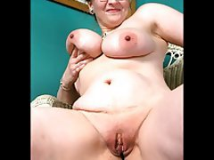 Mom naked with small son