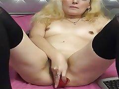 Blonde, Mature, MILF, Small Tits