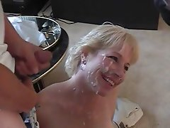 Blowjob, Bukkake, Mature, Facial, Group Sex
