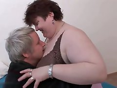 BBW, Big Boobs, Blowjob, Granny, Mature