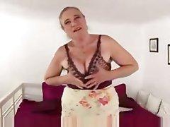 Granny, Masturbation, Mature, Russian