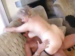 BBW, Blowjob, Cumshot, Granny