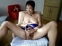 Asian, Mature, MILF, Webcam