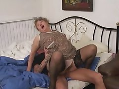 Anal, BBW, Granny, Old and Young, Stockings