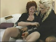 Granny, Lesbian, Mature
