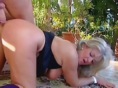 Anal, Big Boobs, Blonde, Granny