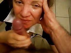 Amateur, Blowjob, Facial, Handjob, Mature