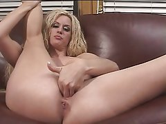 Masturbation, Big Boobs, Blonde, Mature