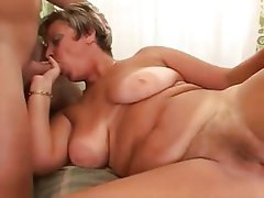 Big Boobs, Blowjob, Cumshot, Mature